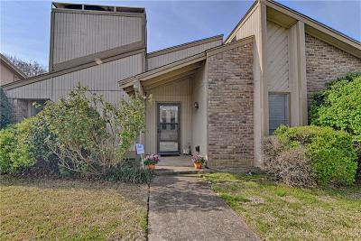 Fort Worth Single Family Home Active Option Contract: 7600 Fox River Court