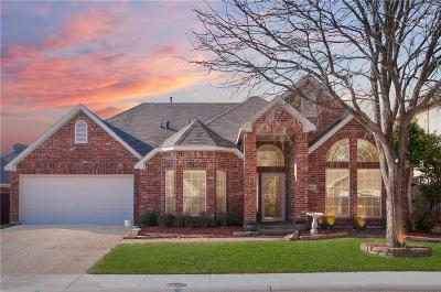 Mckinney Single Family Home Active Option Contract: 5103 Feather