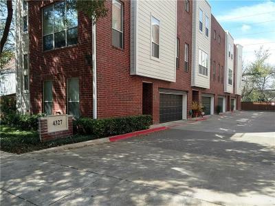 Dallas Condo For Sale: 4327 Buena Vista Street #8