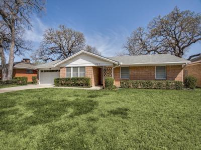 Irving Single Family Home For Sale: 512 Robinhood Drive