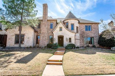 Plano Single Family Home Active Contingent: 7000 Clearwell Lane