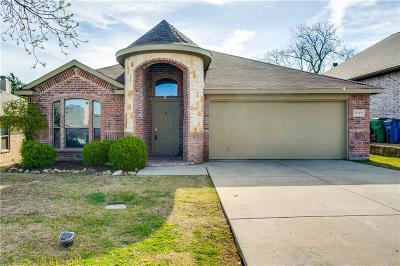 Mckinney Single Family Home Active Option Contract: 4012 Tejas Court