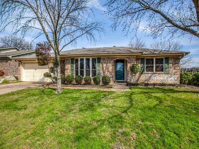 Bedford Single Family Home Active Option Contract: 717 Huntwich Drive
