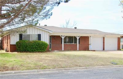 Hurst Single Family Home Active Option Contract: 509 Woodcrest Drive