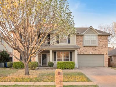 Keller Single Family Home Active Option Contract: 409 Alta Ridge Drive