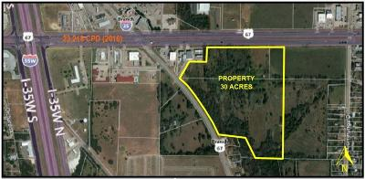 Burleson, Joshua, Alvarado, Cleburne, Keene, Rio Vista, Godley, Everman, Aledo, Benbrook, Mansfield, Grandview, Crowley, Fort Worth, Keller, Euless, Bedford, Saginaw Commercial Lots & Land For Sale: 700 W Hwy 67