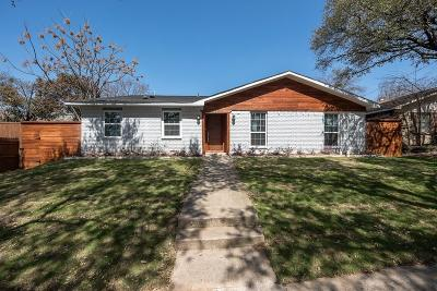 Dallas Single Family Home For Sale: 10901 Wallbrook Drive