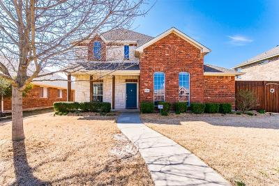 Allen Single Family Home Active Option Contract: 1628 Warm Springs Drive