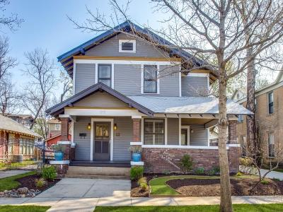 Fort Worth Single Family Home For Sale: 1717 College Avenue