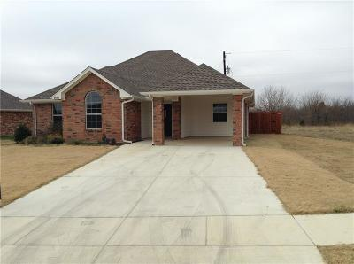Ennis Single Family Home For Sale: 3107 S Cardinal Street