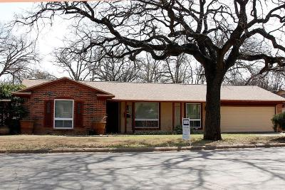 Euless Single Family Home Active Option Contract: 728 Koen Lane