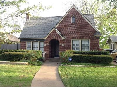 Dallas Single Family Home Active Option Contract: 5714 Vanderbilt Avenue