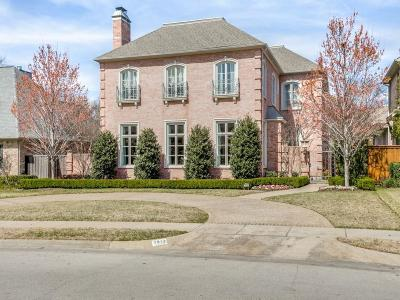 University Park Single Family Home For Sale: 2912 Purdue Street