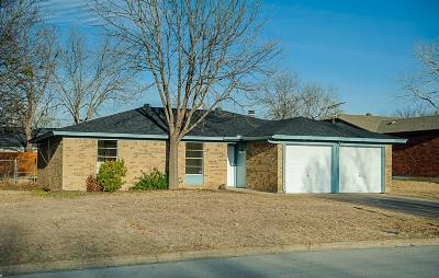 Mansfield Single Family Home Active Option Contract: 603 Waxahachie Street S