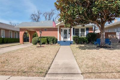 Fort Worth Single Family Home For Sale: 2410 Kenley Street