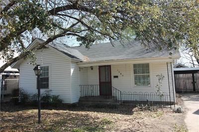 Grand Prairie Single Family Home For Sale: 1609 Pine Street