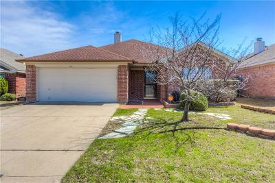 Fort Worth Single Family Home Active Option Contract: 6321 Stockton Drive
