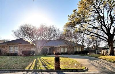 North Richland Hills Single Family Home Active Option Contract: 4641 Hillside Drive