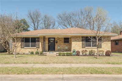 Garland Single Family Home For Sale: 3829 Douglas Drive