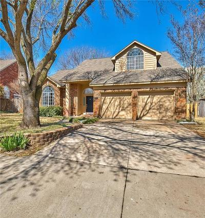 Lewisville Single Family Home Active Option Contract: 2018 Woven Trail