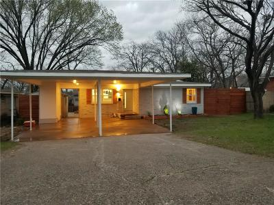 Dallas Single Family Home Active Option Contract: 2211 Forest Oaks Drive