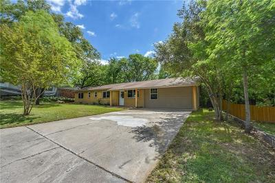 Azle Single Family Home For Sale: 1004 Idlewood Avenue