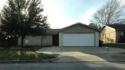 Fort Worth Single Family Home Active Option Contract: 6608 Andora Avenue