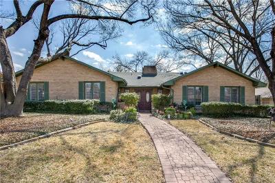 Dallas Single Family Home For Sale: 6622 Hillwood Lane