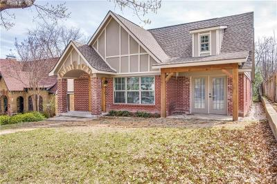 Dallas TX Single Family Home For Sale: $465,000