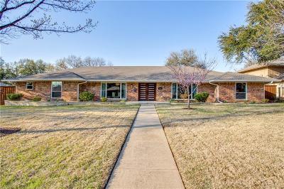 Single Family Home For Sale: 3939 Hockaday Drive
