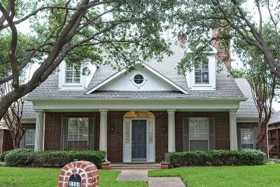 Plano Single Family Home For Sale: 5969 Kensington Drive