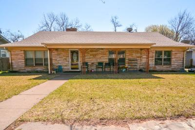 Stephenville Single Family Home For Sale: 1060 W Vanderbilt Street