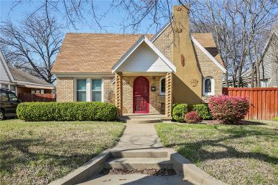 Dallas Single Family Home For Sale: 2745 Ivandell Avenue