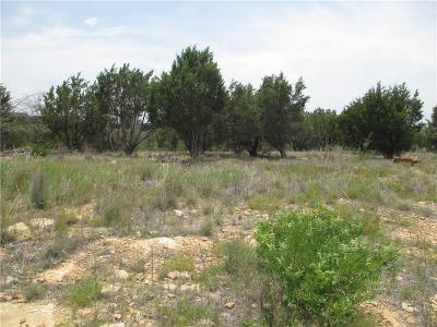 Palo Pinto County Residential Lots & Land For Sale: Lt 598 Caprock Court
