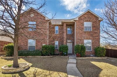 Allen Single Family Home Active Option Contract: 1407 Cedar Springs Drive
