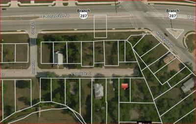 Tarrant County Residential Lots & Land For Sale: 1174 E Oleander Street