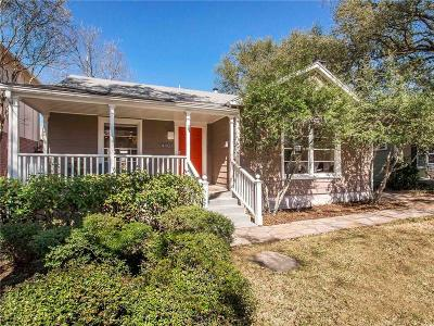 Dallas Single Family Home For Sale: 4907 W Amherst Avenue