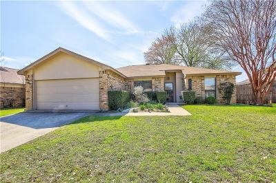 Bedford, Euless, Hurst Single Family Home Active Option Contract: 2020 Cedar Grove Lane