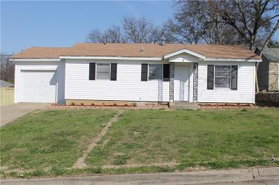 Fort Worth Single Family Home For Sale: 3045 Sappington Place