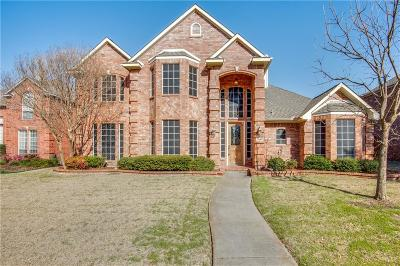 Carrollton Single Family Home Active Option Contract: 3804 Amberglow Court