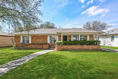 Dallas Single Family Home For Sale: 9941 Gooding Drive