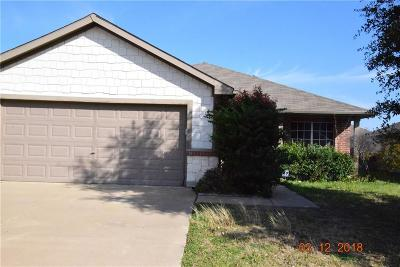 Fort Worth Single Family Home For Sale: 2436 Echo Point Drive
