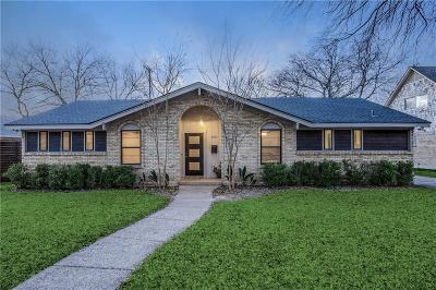 Dallas Single Family Home For Sale: 8311 Angier Way