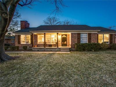 Dallas Single Family Home For Sale: 11255 Lippitt Avenue