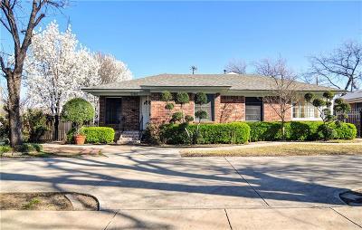 Dallas Single Family Home For Sale: 3705 Seguin Drive