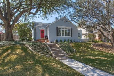 Tarrant County Single Family Home For Sale: 3105 Westcliff Road W