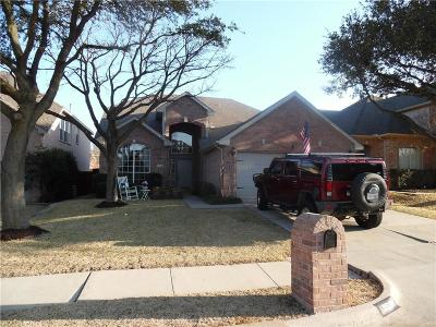 Flower Mound Single Family Home Active Option Contract: 3513 Castlewood Court