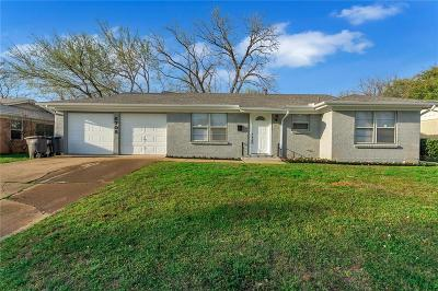 Fort Worth Single Family Home For Sale: 6705 Yosemite Drive