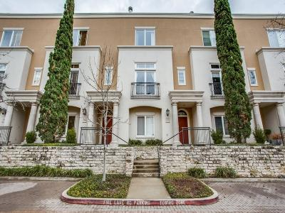 Dallas Townhouse For Sale: 3238 N Haskell Avenue