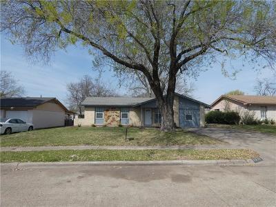 Mesquite Single Family Home For Sale: 1315 Caladium Drive